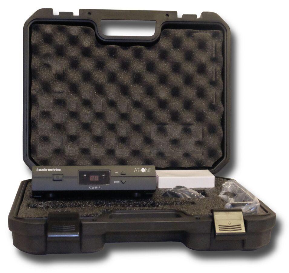 Bezvadu mikrofona komplekts Audio-Technica AT-One ATW-11F ar PRO92CW-TH