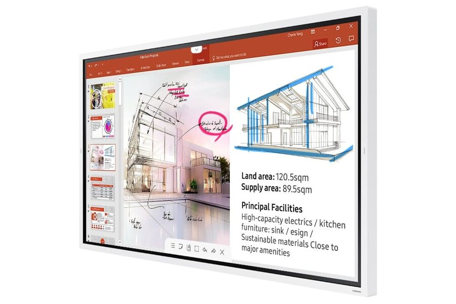 """Interaktīvais displejs 55"""" Samsung Flip 2 WM55R"""