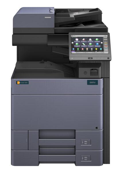 Divpusējās drukas krāsu A3 lāzerprinteris, skeneris, kopētājs 2507ci
