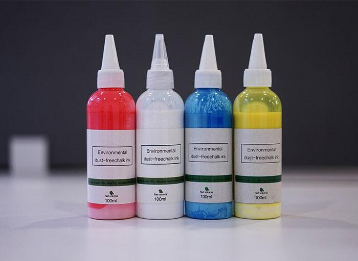 Šķidrais krīts, 100ml pudele, dažādās krāsās